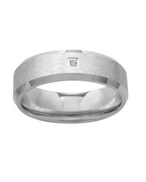 AURANTO Partnerring Damen Silber Brillant 220312