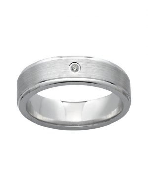 AURANTO Partnerring Damen Silber Brillant 220322