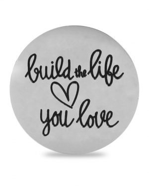 QUOINS Anhänger - Small Build the Life you love 982500614