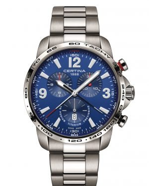 CERTINA Herrenuhr DS Podium Chronograph Titan C001.647.44.047.00