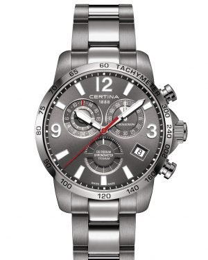 CERTINA DS Podium Chronograph GMT Herren Titan C034.654.44.087.00