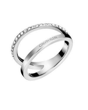 CALVIN KLEIN outline Ring KJ6VMR040107